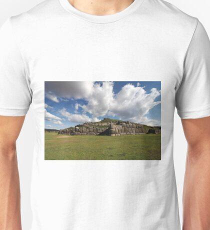 Sacsaywaman Complex, Peru Unisex T-Shirt