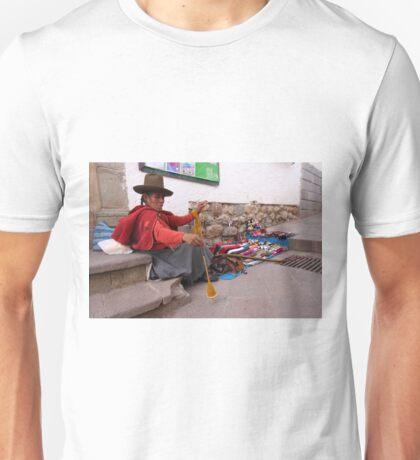 Peruvian Weaver Unisex T-Shirt