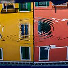 Reflets à Burano by Jean-Luc Rollier