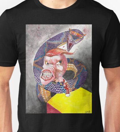 Survive the Coil - Qbert Series #1 Unisex T-Shirt