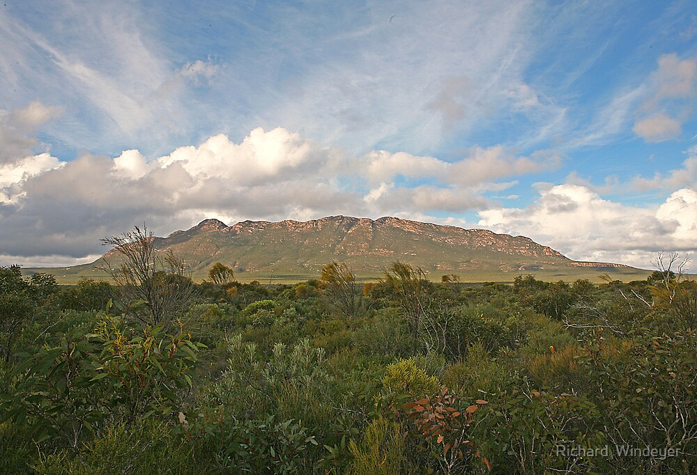 Mt Ragged, WA by Richard  Windeyer