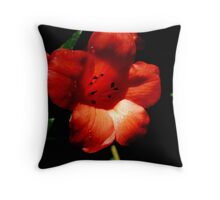 RHODODENDRON SHOWING Throw Pillow