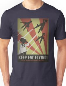 Strikers: Keep Em' Flying Unisex T-Shirt