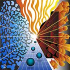 Warm & Cool Convergence by Jeff Batt