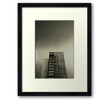 Shipwrecked on a Dry Land Framed Print