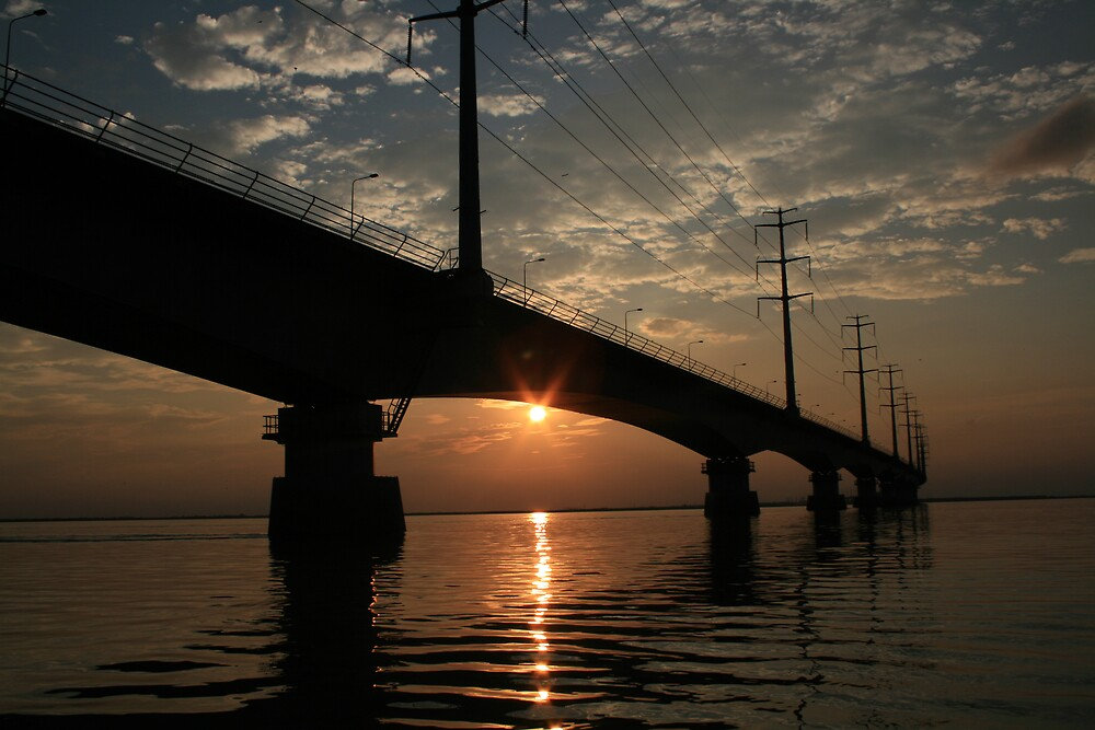 Jamuna Bridge  by Ghalib