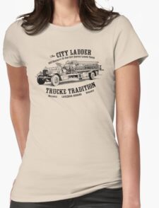 '13 Seagrave City Ladder Womens Fitted T-Shirt