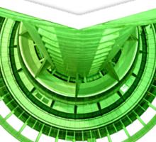 Green Runway TEE Sticker