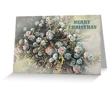 "All Spruced Up ""Merry Christmas"" ~ Greeting Card Greeting Card"