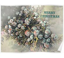 "All Spruced Up ""Merry Christmas"" ~ Greeting Card Poster"