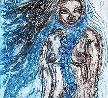 """Collagraph Print by Belinda """"BillyLee"""" NYE (Printmaker)"""