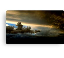 Thor's angry! Canvas Print