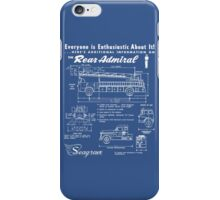 Seagrave Rear Admiral blueprint iPhone Case/Skin
