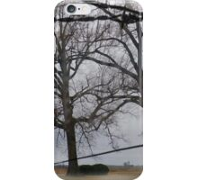 Trees And Wire iPhone Case/Skin
