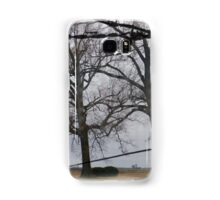 Trees And Wire Samsung Galaxy Case/Skin