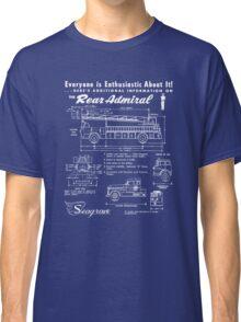 Seagrave Rear Admiral blueprint Classic T-Shirt