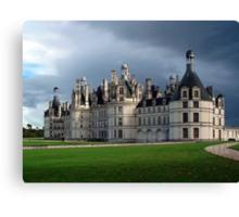 Château de Chambord Canvas Print