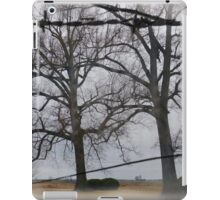 Trees And Wire iPad Case/Skin