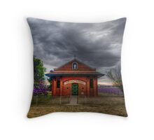 In Memory of the Pioneers Throw Pillow