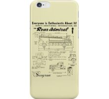 Seagrave Rear Admiral ad iPhone Case/Skin