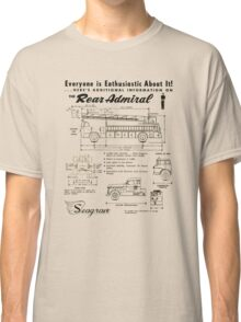 Seagrave Rear Admiral ad Classic T-Shirt