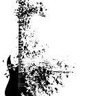 Electric Guitar  by VicsArt04