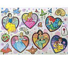 Disney Princesses :) Photographic Print