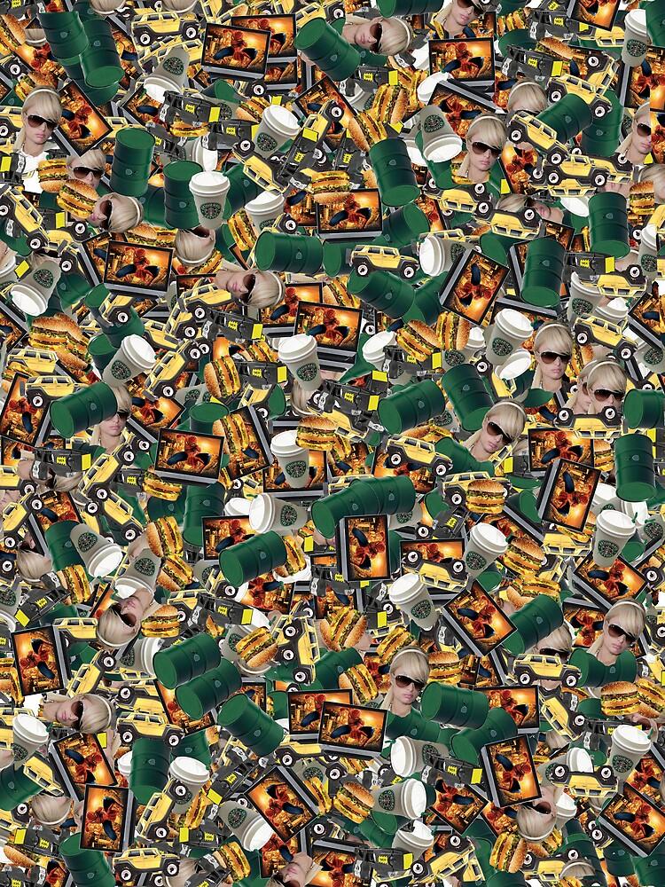 Same-o-flage™ fabric sample by betelnut