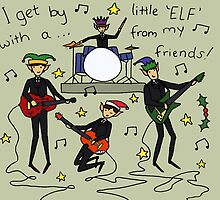I Get By with a Little 'Elf' from My Friends by RedPandonite