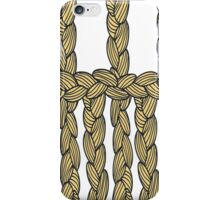 pigtail ornament iPhone Case/Skin