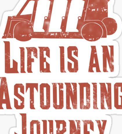 Journey  Sticker