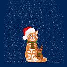 Christmas Buddies by . VectorInk
