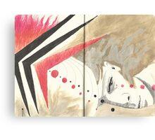 Sketchbook Jak, 34-35 Canvas Print