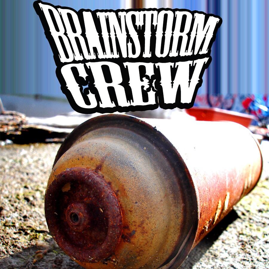 design for BrainStorm crew by SCANOE