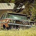 Abandoned 1961 Bel Air by mal-photography