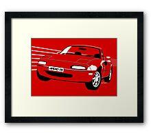 Mazda MX5 Miata Framed Print