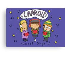Carol Singers Canvas Print