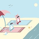 Traveling Tabbies: Let's Go to the Beach by Jess Emery