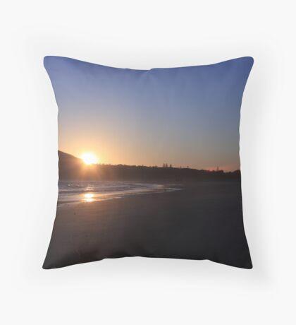 byron sunrise Throw Pillow