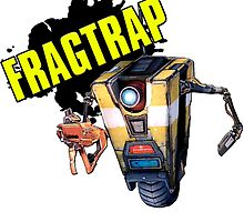 Borderlands the Pre-Sequel - Claptrap / Fragtrap by AmadeusZV
