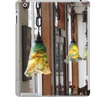 Hand Blown Lamps In Newport, Ore. Cafe iPad Case/Skin