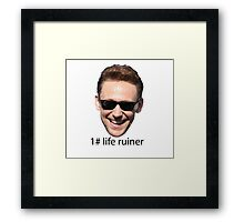 indeed he is Framed Print