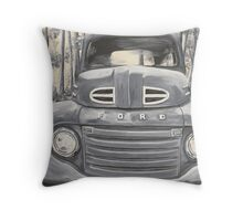 GA Truck Throw Pillow