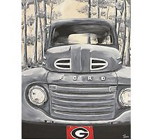 GA Truck Photographic Print