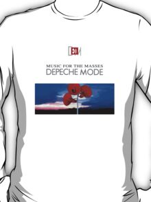 Depeche Mode Music For The Masses Paint 2 T-Shirt