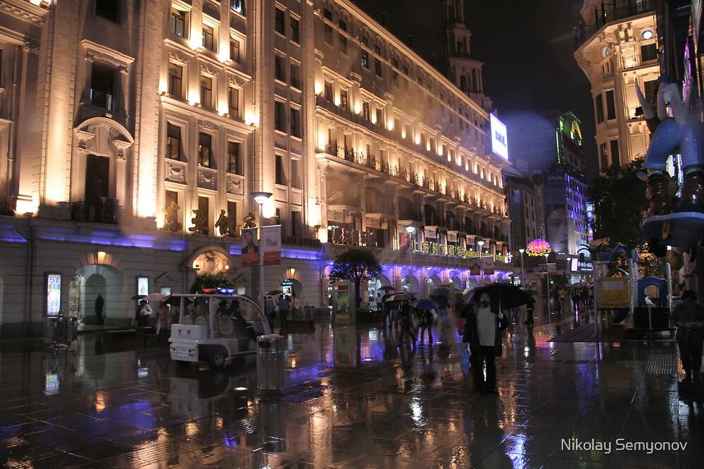 Shangnai. November Rain. 2007 by Nikolay Semyonov