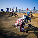 Mountain Bike Racing by Edward Hor