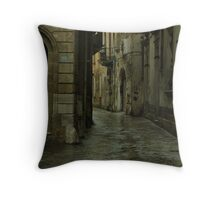Streetscape in Baroque ! Throw Pillow