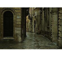 Streetscape in Baroque ! Photographic Print