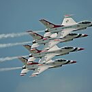 USAF Thunderbirds by Andreas Mueller